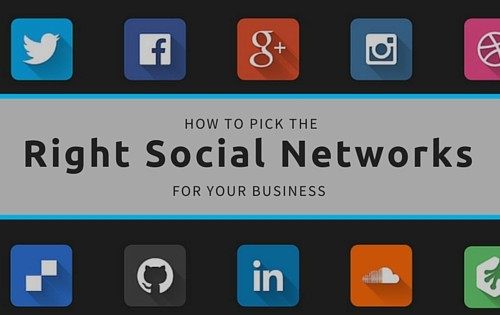 How to pick the right social networks for your business