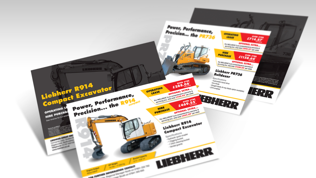 Liebherr A5 Leaflets