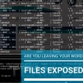 Are you Leaving your WordPress Files Exposed_