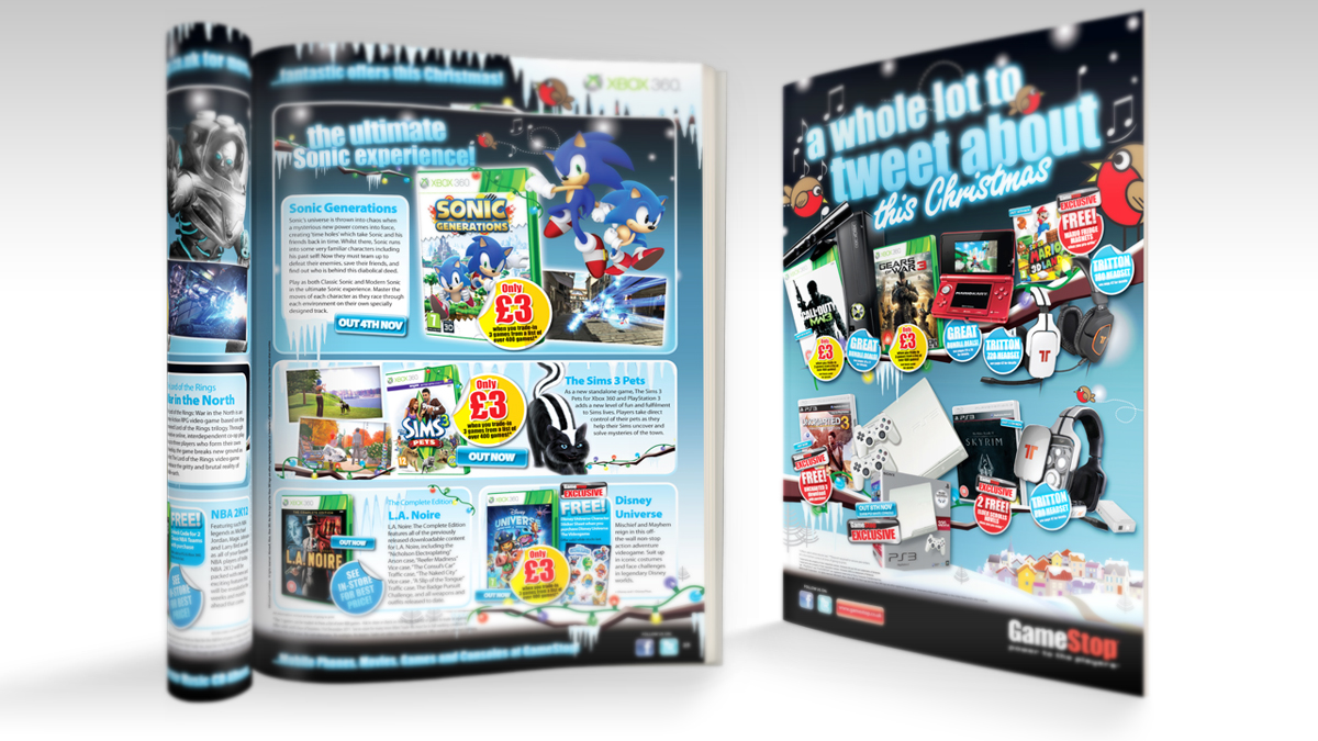 GameStop A4 Catalogue