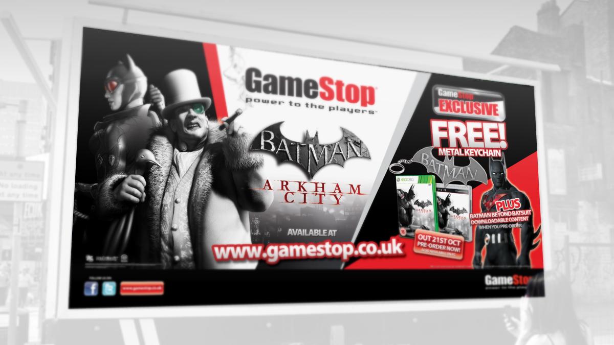GameStop billboard Ad